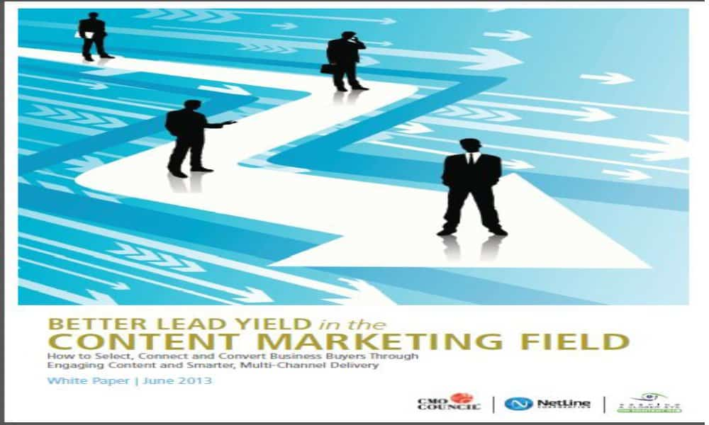 B2B content strategy 2015: CMO report shows room for improvement
