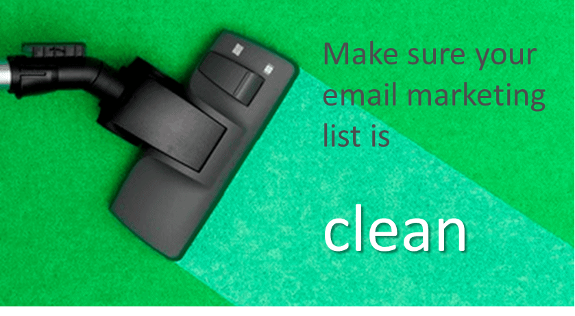 Building a clean mailing list