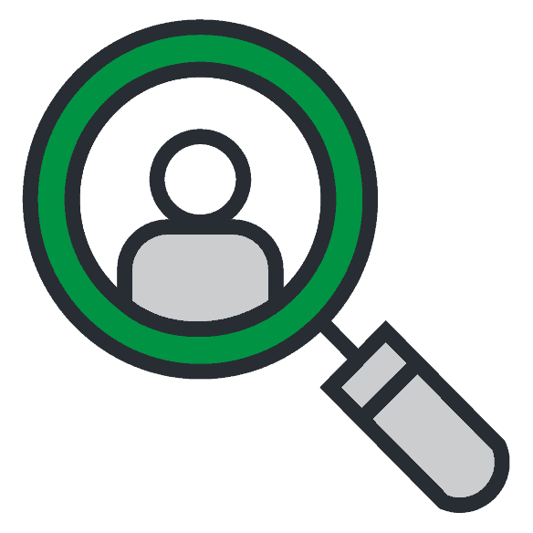 Magnifying glass icon finding-more-clients