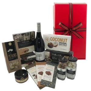 christmas thank you gift pack from Ladybird Gifts with plenty of consumables