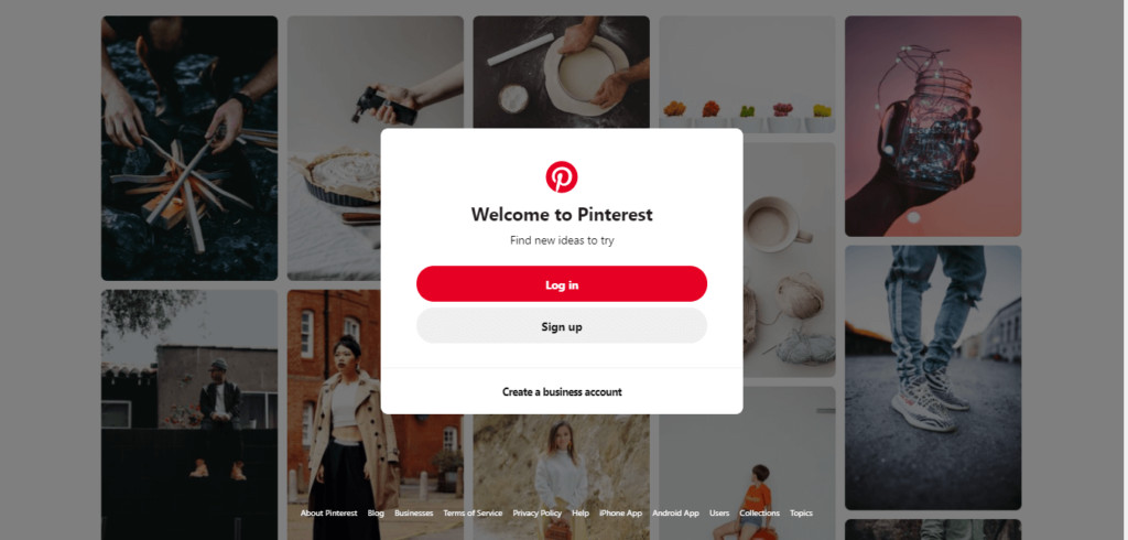 pinterest-login-signup-form-screenshot