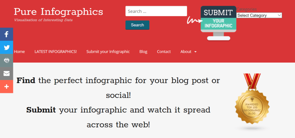 pure-infographics-homepage-screenshot