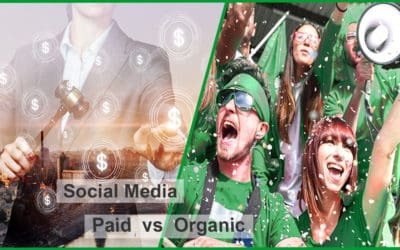Social Media Paid vs. Organic