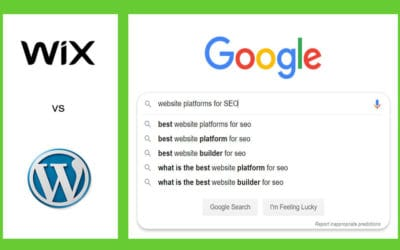 Comparing Wix vs WordPress for SEO in 2020