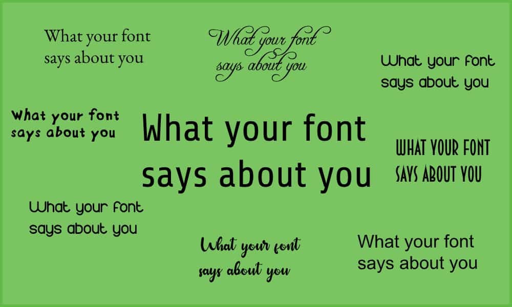 different-types-of-font