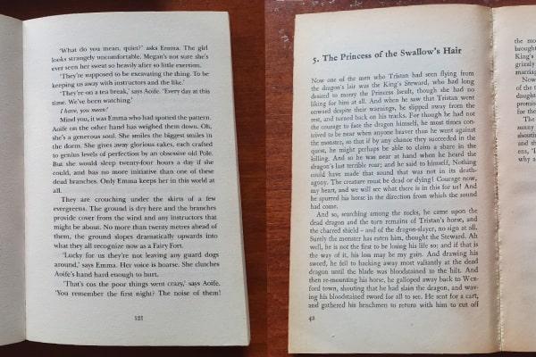 book fonts