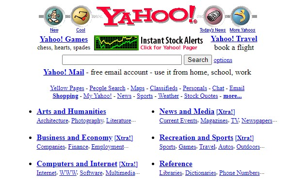 Yahoo-1999-design