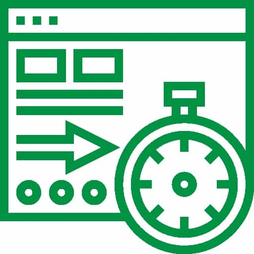 eliminating performance issues icon