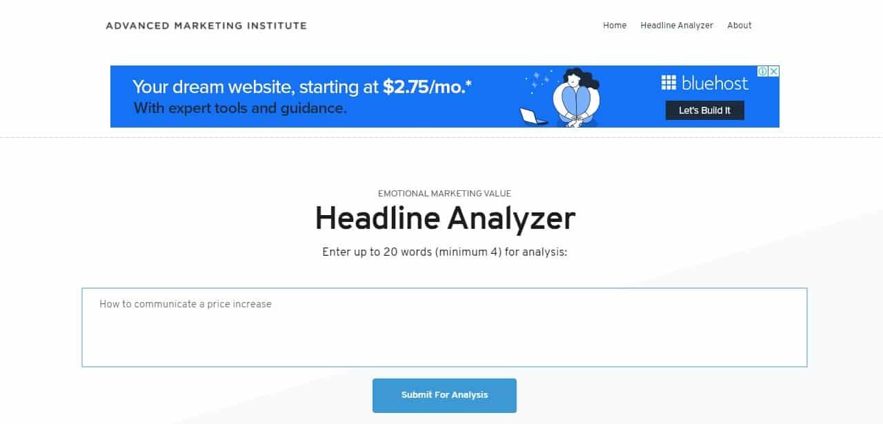 Advanced-Marketing-Institute-headline-analyser-homepage