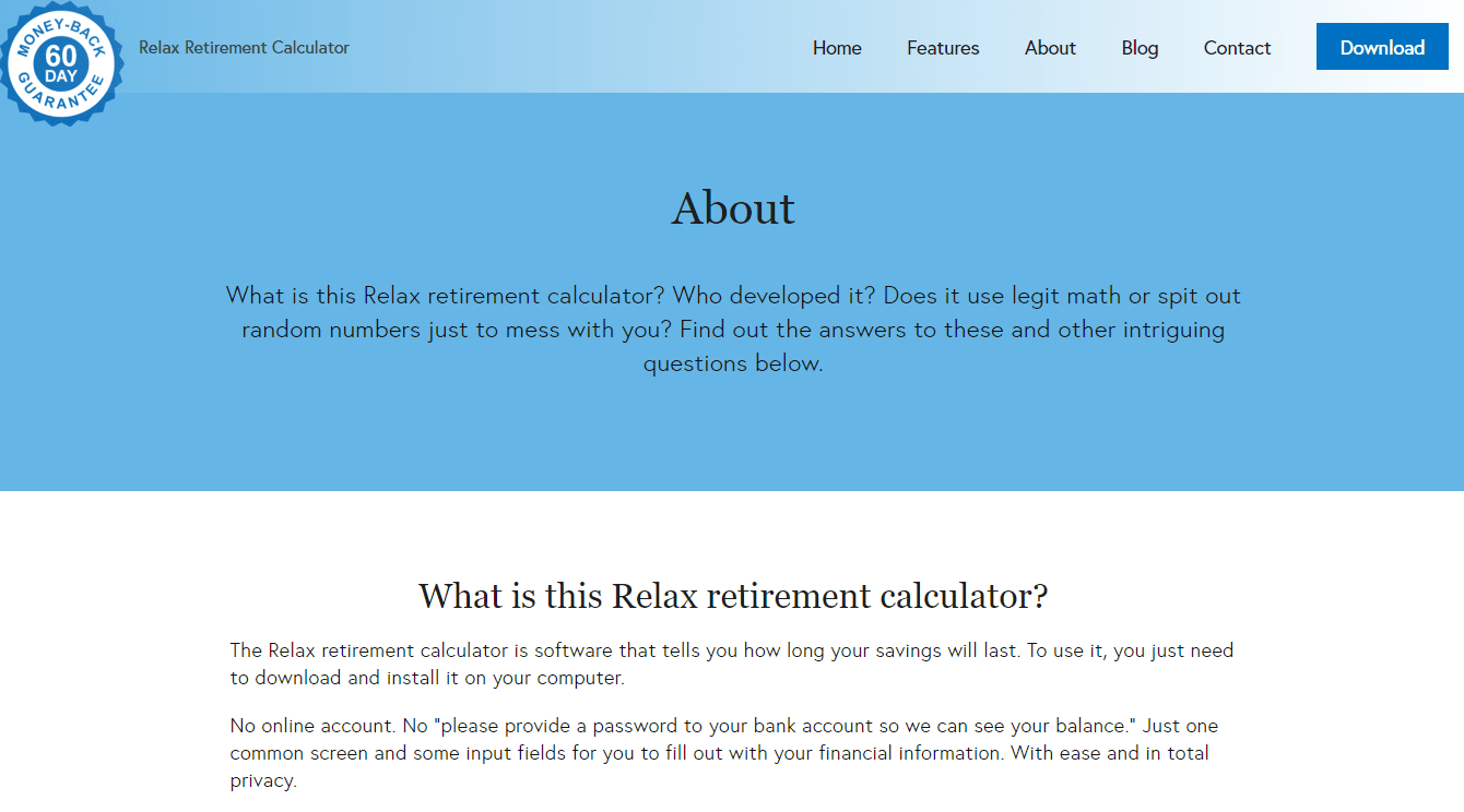 the-Relax-Retirement-calculator-about-page-screenshot